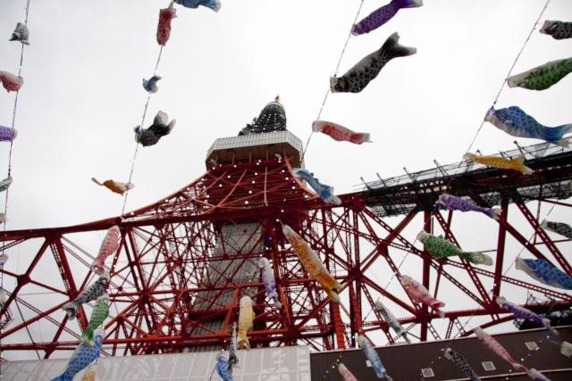 東京は子供が遊べる場所たくさんあります